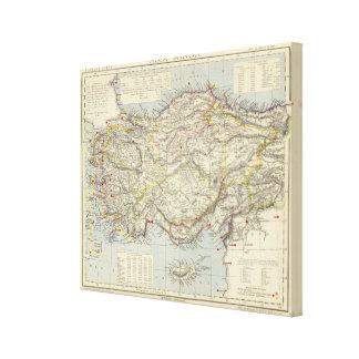 Asia Minor Canvas Print