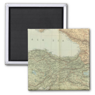 Asia Minor, Caucasus, Black Sea Magnet