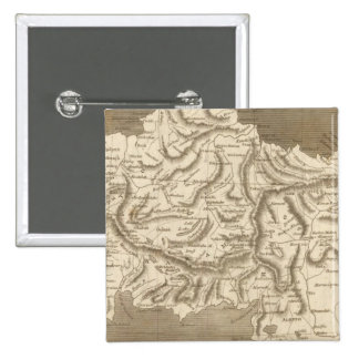 Asia Minor Map by Arrowsmith Pinback Button