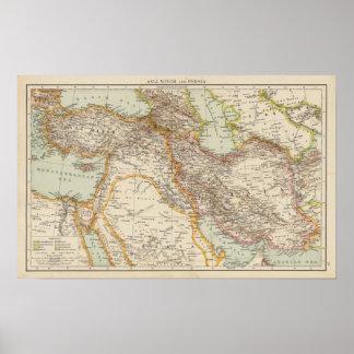 Asia Minor, Persia Poster