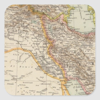 Asia Minor, Persia Square Sticker