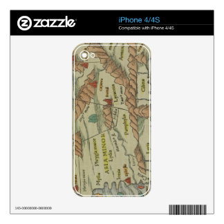 Asia Minor Decal For The iPhone 4S