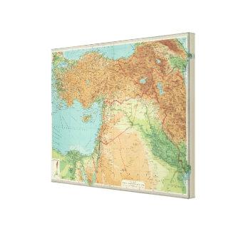 Asia Minor, Syria & Mesopotamia Canvas Print