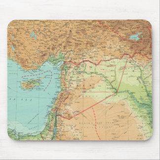 Asia Minor, Syria & Mesopotamia Mouse Pad