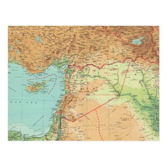 Asia Minor, Syria & Mesopotamia Postcard