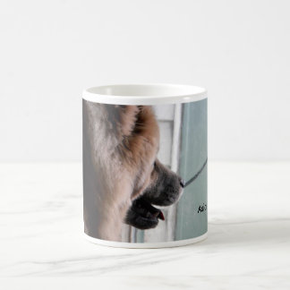 Asia my chow looking off into space classic white coffee mug