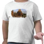 Asia, Myanmar, Bagan. Ancient temples and Tee Shirts