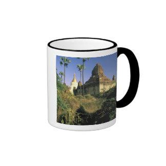 Asia, Myanmar, Bagan. Kubyauk-Gyi Temple. Coffee Mug
