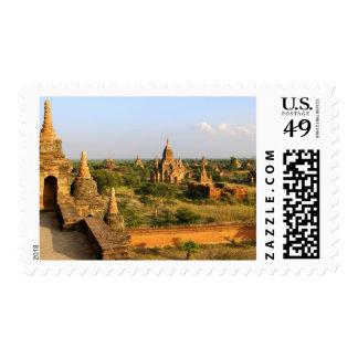 Asia, Myanmar (Birmania), Bagan (Pagan). Diverso Sellos Postales