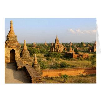 Asia, Myanmar (Birmania), Bagan (Pagan). Diverso Tarjeta De Felicitación