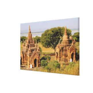 Asia, Myanmar (Birmania), Bagan (Pagan). Diversos  Lienzo Envuelto Para Galerias