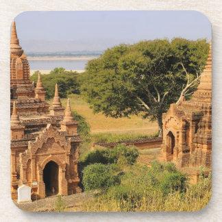 Asia, Myanmar (Birmania), Bagan (Pagan). Diversos  Posavasos De Bebidas