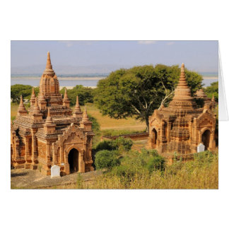 Asia, Myanmar (Birmania), Bagan (Pagan). Diversos  Tarjeta De Felicitación