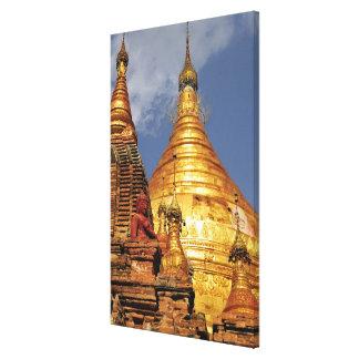 Asia, Myanmar (Birmania), Bagan (Pagan). El Dhamma Lona Estirada Galerias
