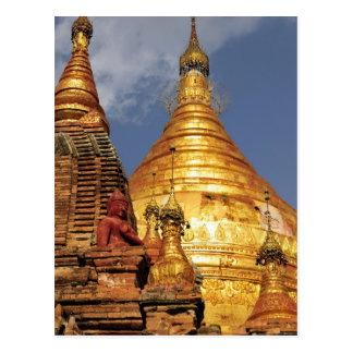 Asia, Myanmar (Birmania), Bagan (Pagan). El Dhamma Postales
