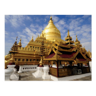 Asia, Myanmar (Birmania), Bagan (Pagan). El Shwe 2 Postales