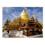 Asia, Myanmar (Birmania), Bagan (Pagan). El Shwe 2 Tarjeta Postal