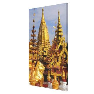 Asia, Myanmar (Birmania), Bagan (Pagan). El Shwe 3 Lona Estirada Galerías