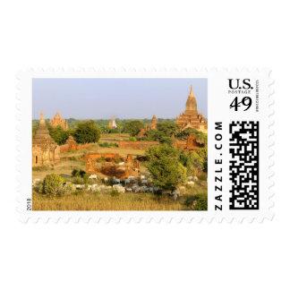 Asia, Myanmar (Birmania), Bagan (Pagan). Paso de Timbres Postales