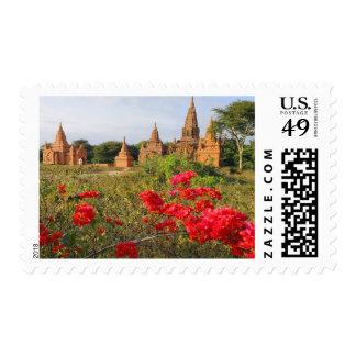 Asia, Myanmar (Birmania), Bagan (Pagan). Un Bagan Sellos