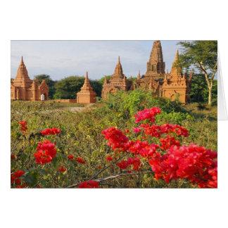 Asia, Myanmar (Birmania), Bagan (Pagan). Un Bagan Tarjeta De Felicitación