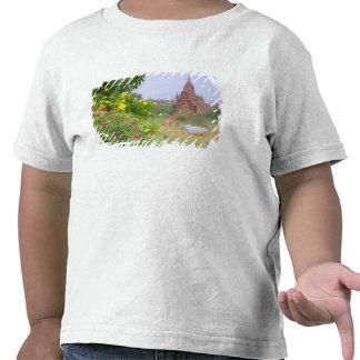 Asia, Myanmar (Birmania), Bagan (Pagan). Vacas Camiseta