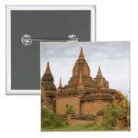 Asia, Myanmar Birmania), Pagan de Bagan). Diverso Pin Cuadrada 5 Cm