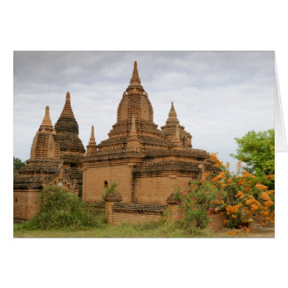 Asia, Myanmar Birmania), Pagan de Bagan). Diverso Tarjeta De Felicitación