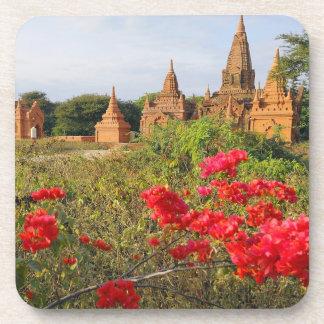 Asia, Myanmar (Burma), Bagan (Pagan). A Bagan Drink Coasters