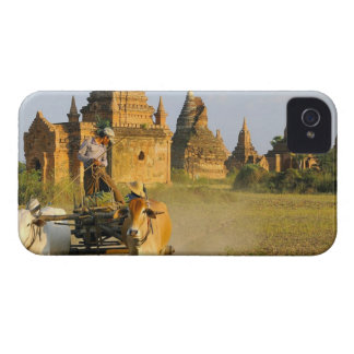 Asia, Myanmar (Burma), Bagan (Pagan). A cart is iPhone 4 Case-Mate Cases