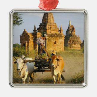 Asia, Myanmar (Burma), Bagan (Pagan). A cart is Metal Ornament
