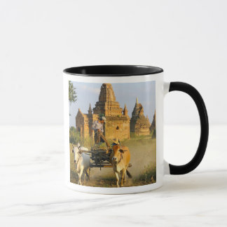 Asia, Myanmar (Burma), Bagan (Pagan). A cart is Mug