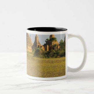 Asia, Myanmar (Burma), Bagan (Pagan). A cart is Two-Tone Coffee Mug
