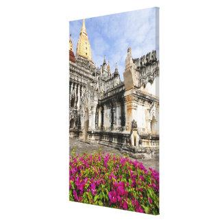 Asia, Myanmar (Burma), Bagan (Pagan). The Ananda Canvas Print