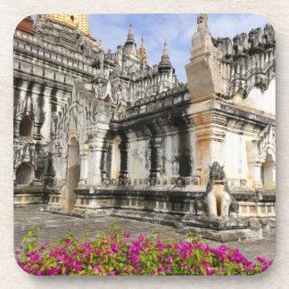 Asia, Myanmar (Burma), Bagan (Pagan). The Ananda Drink Coaster