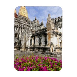 Asia, Myanmar (Burma), Bagan (Pagan). The Ananda Rectangular Photo Magnet