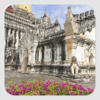 Asia, Myanmar (Burma), Bagan (Pagan). The Ananda Square Sticker