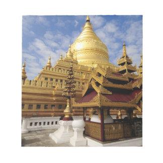 Asia, Myanmar (Burma), Bagan (Pagan). The Shwe 2 Notepad