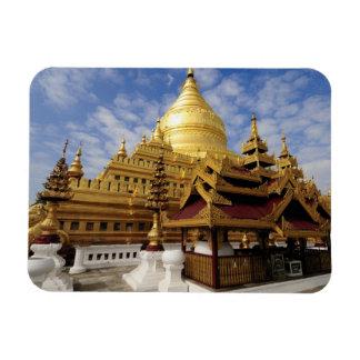 Asia, Myanmar (Burma), Bagan (Pagan). The Shwe 2 Rectangular Photo Magnet
