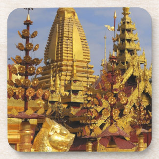 Asia, Myanmar (Burma), Bagan (Pagan). The Shwe 3 Drink Coasters
