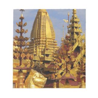 Asia, Myanmar (Burma), Bagan (Pagan). The Shwe 3 Notepad