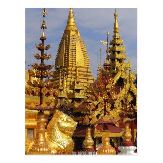 Asia, Myanmar (Burma), Bagan (Pagan). The Shwe 3 Postcard