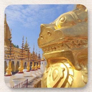 Asia, Myanmar (Burma), Bagan (Pagan). The Shwe 4 Beverage Coasters