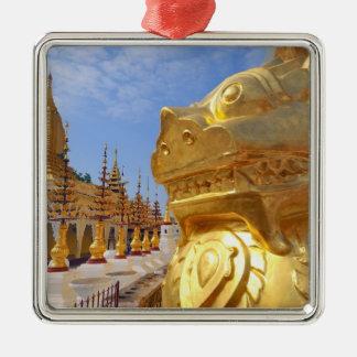 Asia, Myanmar (Burma), Bagan (Pagan). The Shwe 4 Metal Ornament