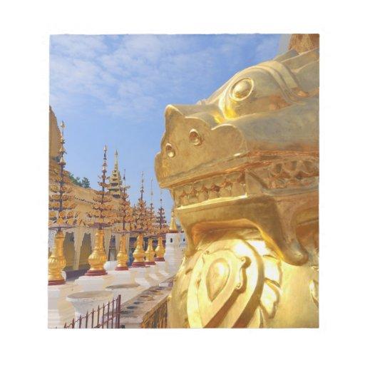 Asia, Myanmar (Burma), Bagan (Pagan). The Shwe 4 Notepads