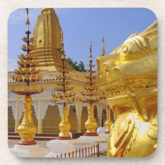 Asia, Myanmar (Burma), Bagan (Pagan). The Shwe 6 Beverage Coaster