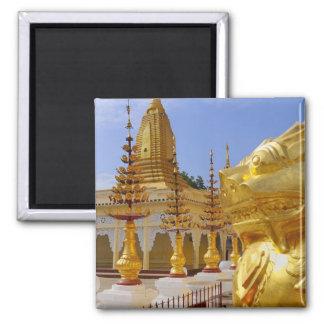 Asia, Myanmar (Burma), Bagan (Pagan). The Shwe 6 Magnet