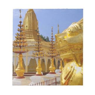 Asia, Myanmar (Burma), Bagan (Pagan). The Shwe 6 Notepad