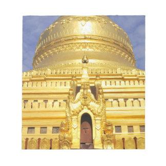 Asia, Myanmar (Burma), Bagan (Pagan). The Shwe Notepad