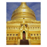 Asia, Myanmar (Burma), Bagan (Pagan). The Shwe Poster